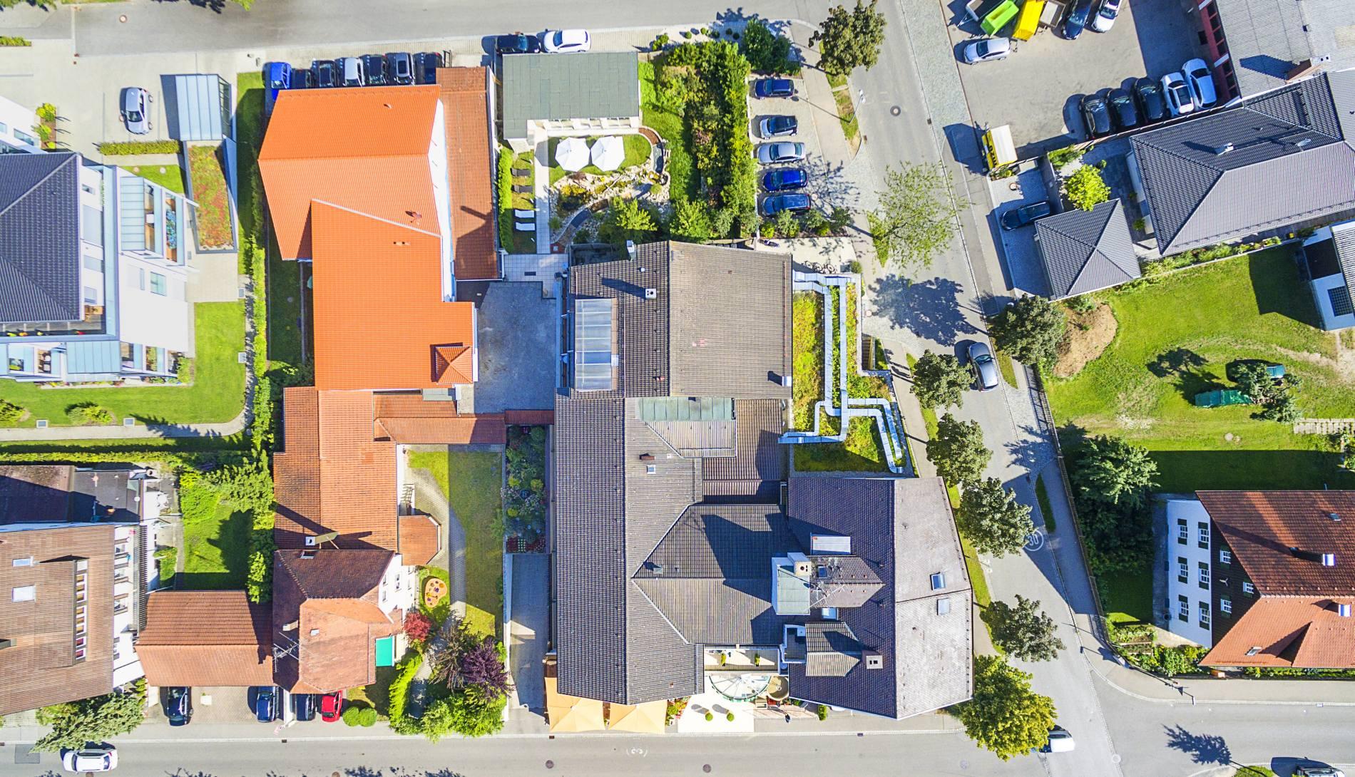 Drohnenfoto Hotelanlage