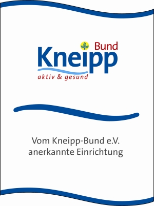 Seal of approval of the Kneipp-Bund e.V.