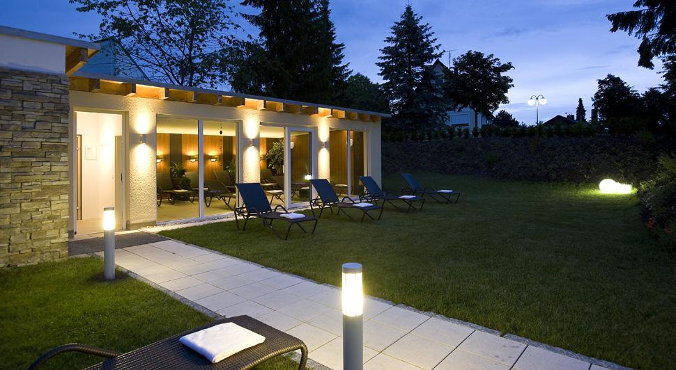 Sauna: Außenbereich