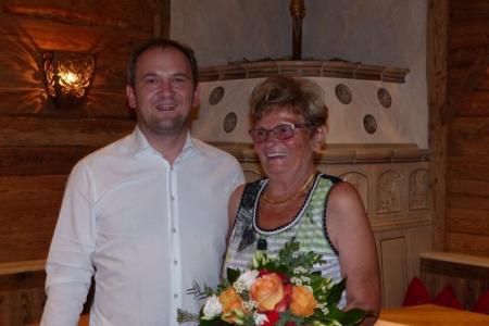 Christian Förch mit seiner Mutter
