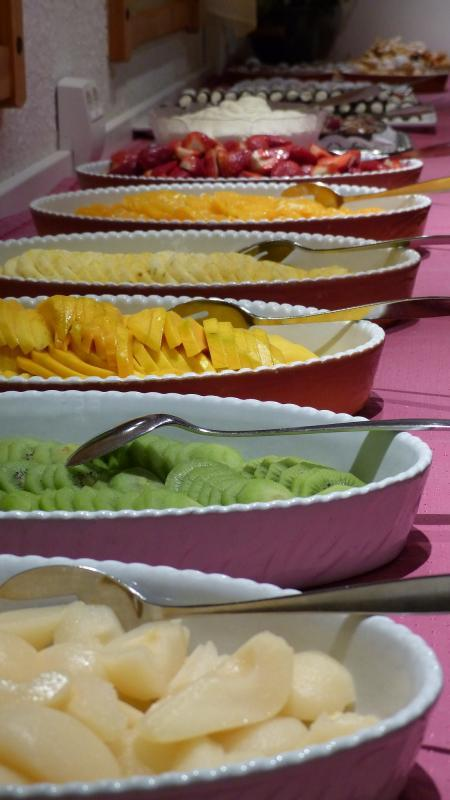 Obst Dessertbüffet