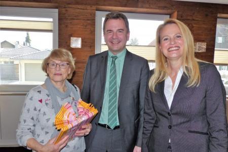 Gästeehrung Dorothea Bäcker