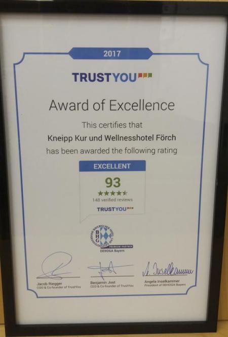 TrustYou Hotel Förch