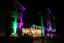 Hotel Förch illuminiert